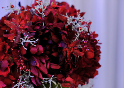 Red Bouquet Details
