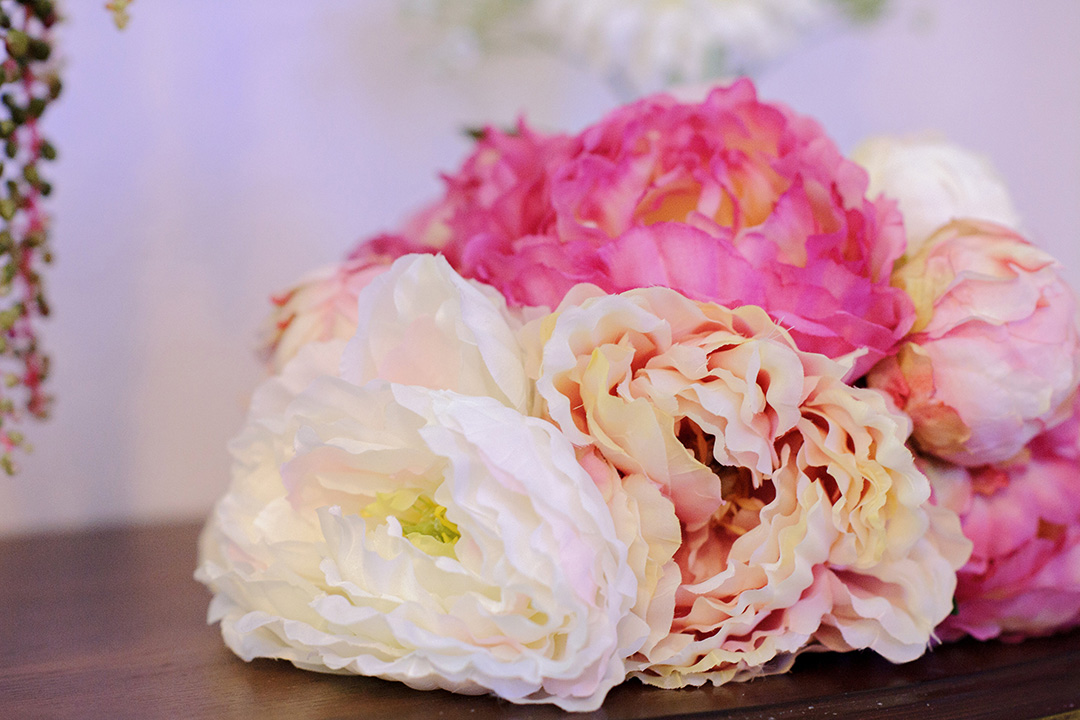 Pretty in Pink Peony Bouquet